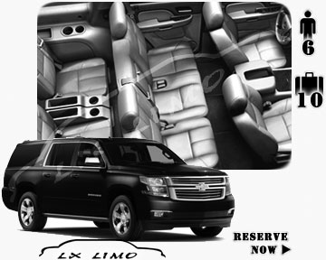 SUV Suburban for hire in Buffalo