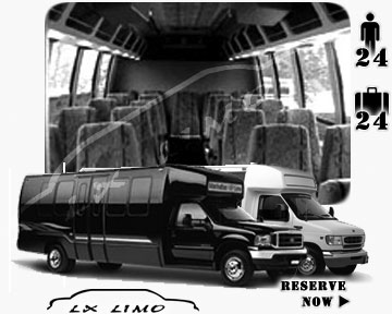 Mini bus for hire in Buffalo, NY